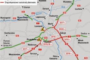 Jak wyjecha� na maj�wk� z Warszawy? [NASZ INFORMATOR]