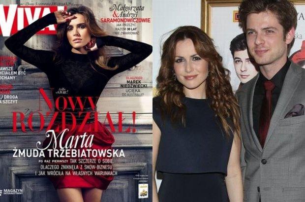 Marta �muda Trzebiatowska pierwszy raz o �lubie z Kamilem Kul�: Jeste�my z tej samej gliny, wszystko sta�o si� proste