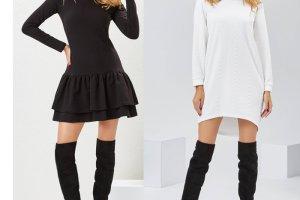 Trzy modne stylizacje z sukienkami