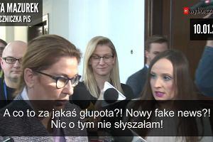 Mazurek o wieżowcach 3 tygodnie temu: A co to za głupota? Jakiś fake news...