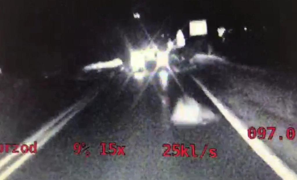Zdjęcia z radiowozu