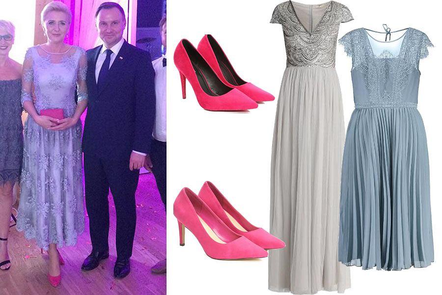 dc86761cd6 Najpiękniejsze sukienki na wesele dla mamy panny młodej. Koronkowe w ...