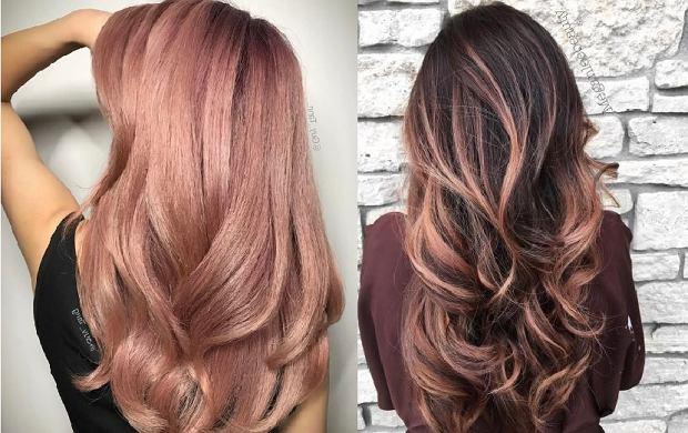 f96eb19d5cb1b To najmodniejszy kolor włosów tego sezonu dla brunetek! Poznaj Rose Brown