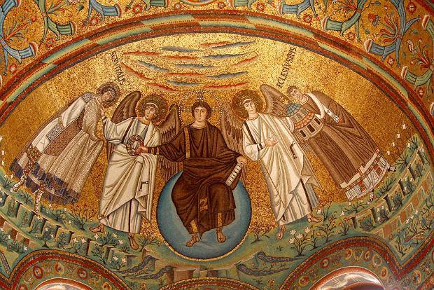 Mozaiki w San Vitale, Rawenna, Włochy / fot. Shutterstock