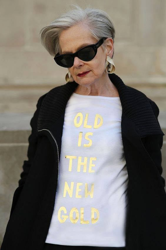 """""""Staruszka"""", """"starsza pani""""? To stanowczo nie one! Udowadniaj�, �e zawsze mo�na wygl�da� m�odzie�owo i stylowo [ZDJ�CIA]"""