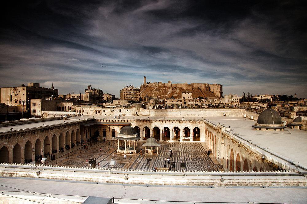 Syria Aleppo przed wojną - Stare Miasto / shutterstock