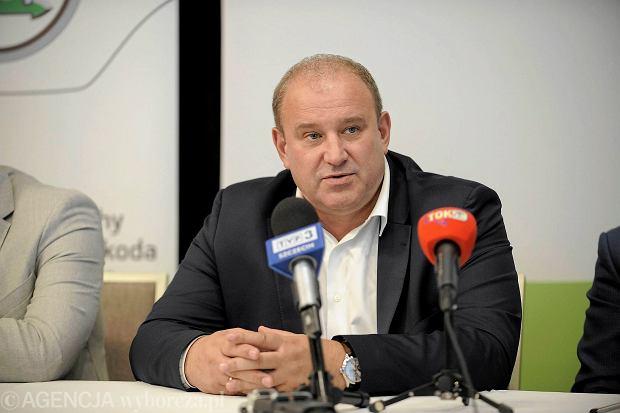 Prezes Polskiego Związku Piłki Siatkowej Jacek Kasprzyk