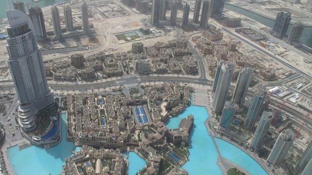 Serwis dronestagr.am publikuje zdj�cia z ca�ego �wiata, tu widzimy na przyk�ad Dubaj.