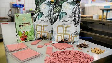 Premiera różowej czekolady w Polsce odbyła się w cukierni Sowa 27 lipca
