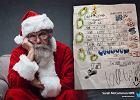 6-latek napisał bardzo niecodzienny list do Św. Mikołaja.