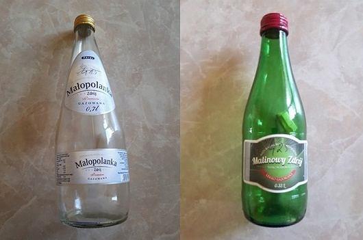 Partie wody Małopolanka Zdrój i wody Malinowy Zdrój sprzedawane w szklanych butelkach są wycofywane ze sklepów w Polsce ze względu na skażenie chorobotwórczymi bakteriami