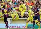Primera Division. Barcelona wym�czy�a zwyci�stwo z Villarrealem