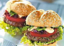 Burger wo�owy - ugotuj