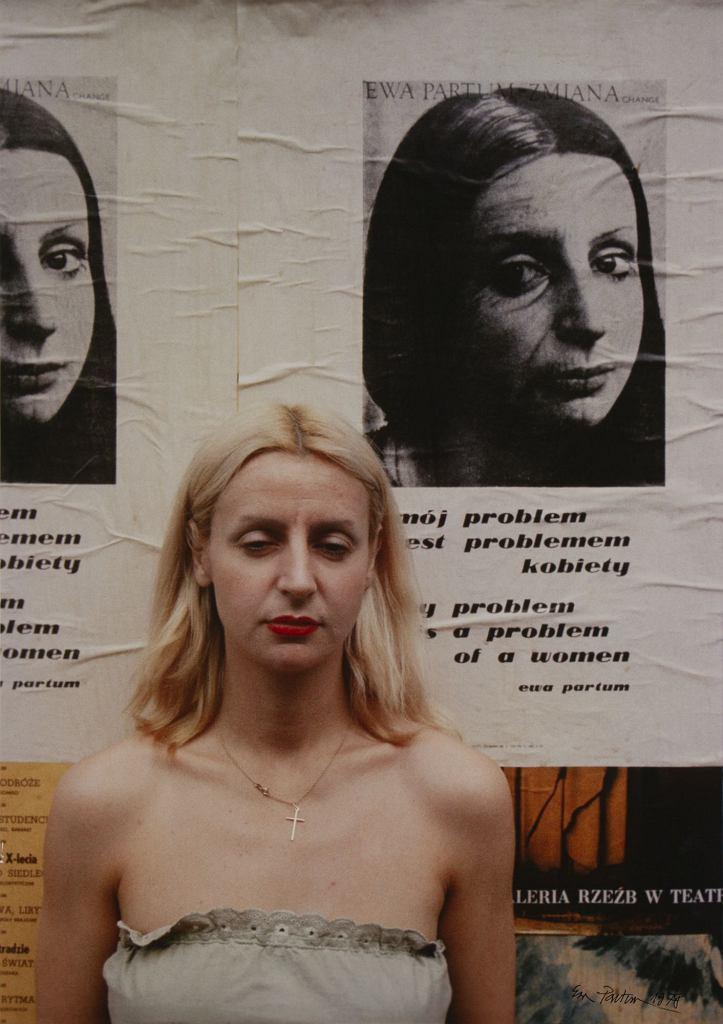 Ewa Partum, 'Change - Mój problem jest problemem kobiety' , 1978 r. / materiały prasowe