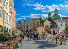 Stoiska handlowe w centrum Krakowa