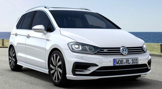 Salon Frankfurt 2015 | Volkswagen Golf Sportsvan R-Line | Na sportowo