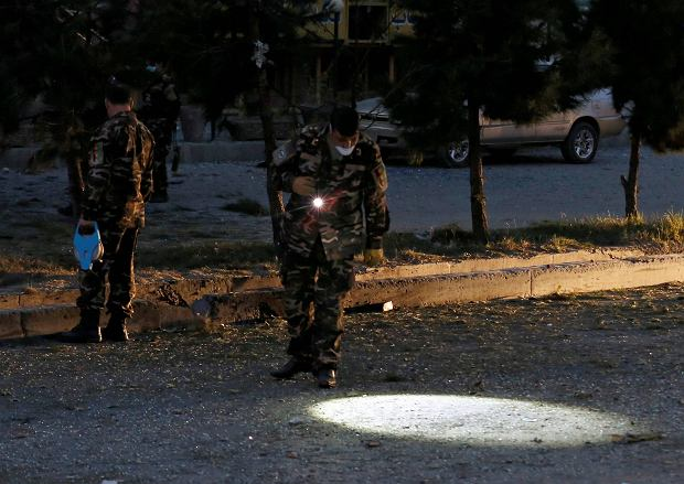 Wojskowy śmigłowiec z afgańskimi żołnierzami rozbił się w prowincji Baghlan