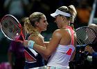 WTA Finals. Kerber pokonała Cibulkovą po trzysetowym meczu