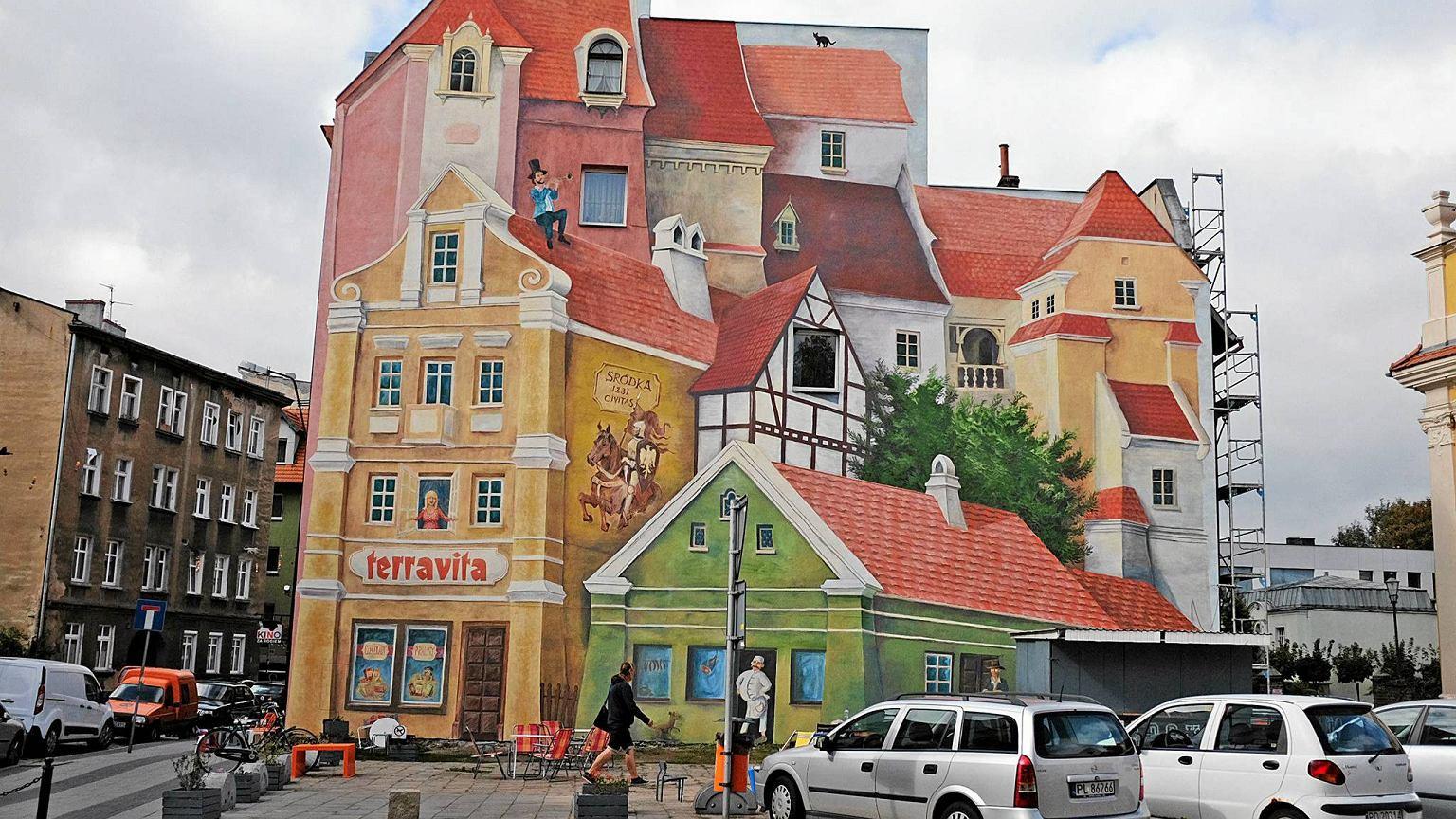 Tr jwymiarowy mural w poznaniu robi furor za granic for Mural na tamie w solinie