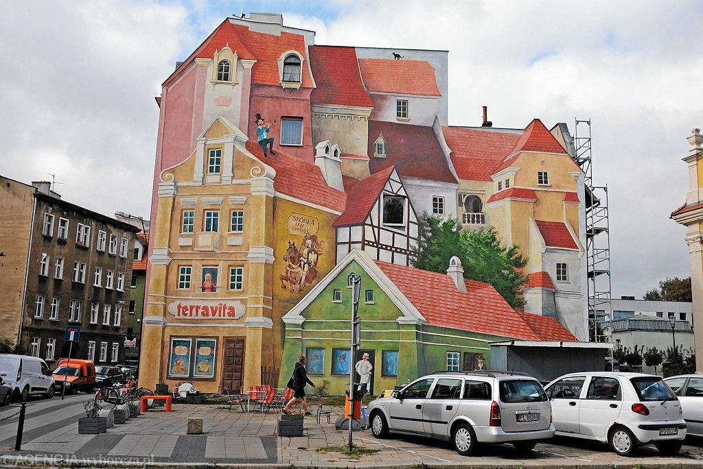 tr jwymiarowy mural w poznaniu robi furor za granic