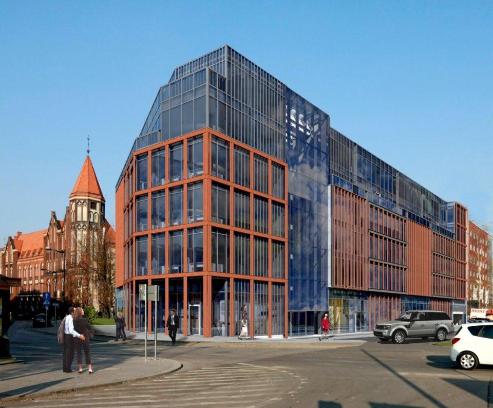 Projektowany 6-kondygnacyjny budynek biurowo-usługowy Dworcowa 25 będzie miał 4680 metrów kw. powierzchni na wynajem