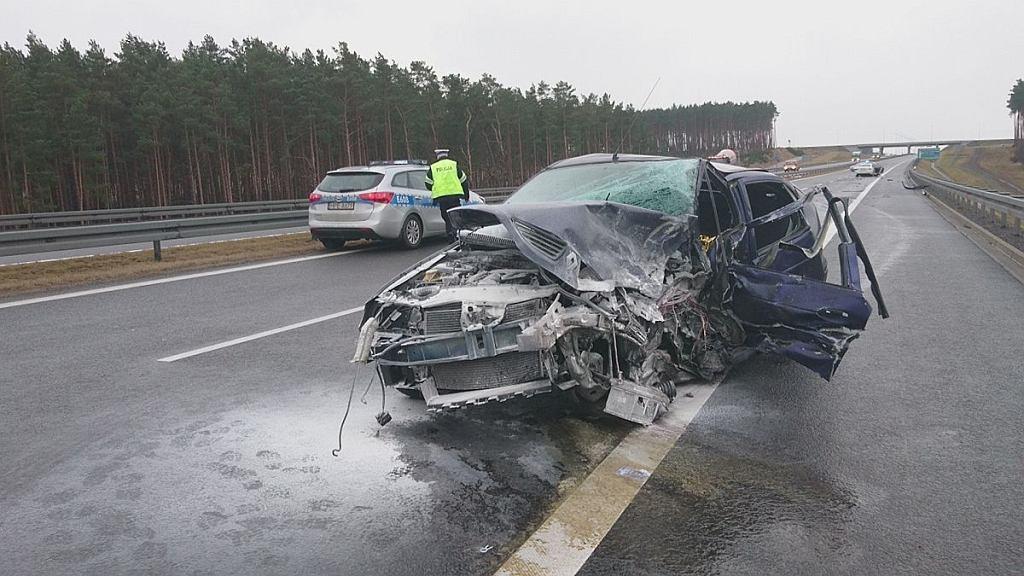Wypadek na S3