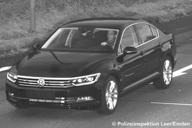 Nowy VW Passat B8 | Skradziony z fabryki Volkswagena