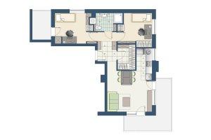 Jak urządzić trzypokojowe mieszkanie dla 4-osobowej rodziny?