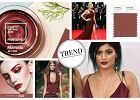 Marsala - kolor ust Kylie Jenner, sukni Blake Lively i... roku 2015 wg Pantone. Pokochacie z�amane bordo? [INSPIRACJE]