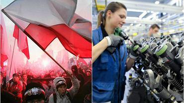 Polski patriotyzm kontra niemiecki outsourcing