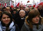 30 tys. os�b na marszu PiS w Warszawie. Kaczy�ski oskar�a prezydenta o tuszowanie fa�szowania wybor�w