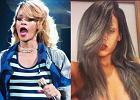 �egnajcie blondzie i siwizno! Rihanna wraca do korzeni. Zn�w ma kr�cone w�osy w swoim naturalnym kolorze