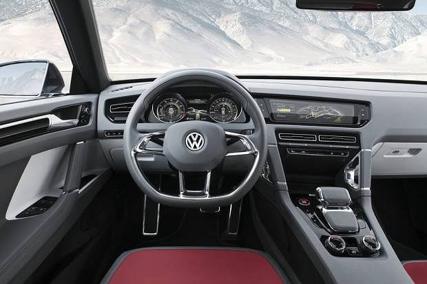 VW Cross Coupe Concept (2011)