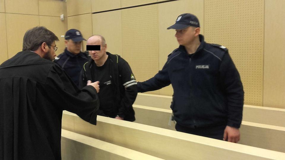 Ogłoszenie wyroku w sprawie gwałciciela z Gniezna