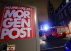 """Podpalaenie w redakcji dziennika """"Hamburger Morgenpost"""""""