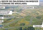 Największe skrzyżowanie we Wrocławiu. Ma połączyć AOW i S5 [ZDJĘCIA]