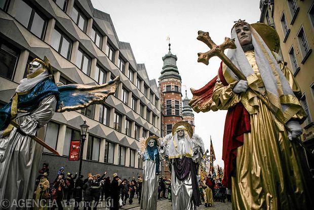 06.01.2016 Gdansk . Orszak Trzech Kroli . Fot . Renata Dabrowska / Agencja Gazeta SLOWA KLUCZOWE: Swieto Trzech Kroli /FR/