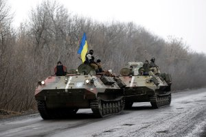 Zaci�te walki na wschodzie Ukrainy po fiasku spotkania w Mi�sku