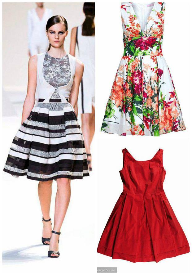 Sukienki w stylu lat 50.