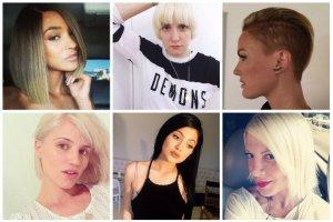 Te gwiazdy zdecydowa�y si� ostatnio na radykaln� zmian� fryzury. Oczywi�cie og�osi�y to na Instagramie - zobaczcie efekty