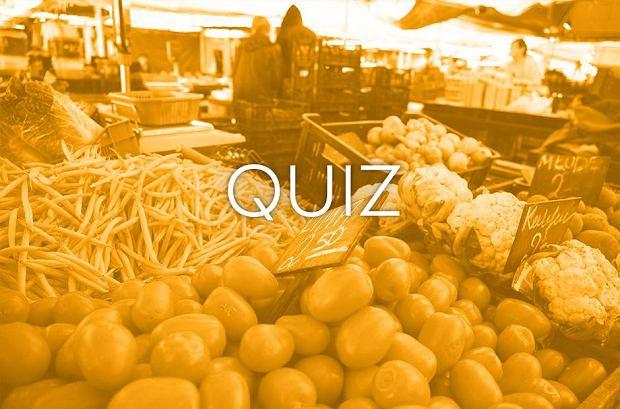 Zdjęcie do quizu o owocach i warzywach