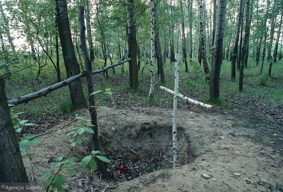 Miejsce zabójstwa Tomka Jaworskiego na Bielanach