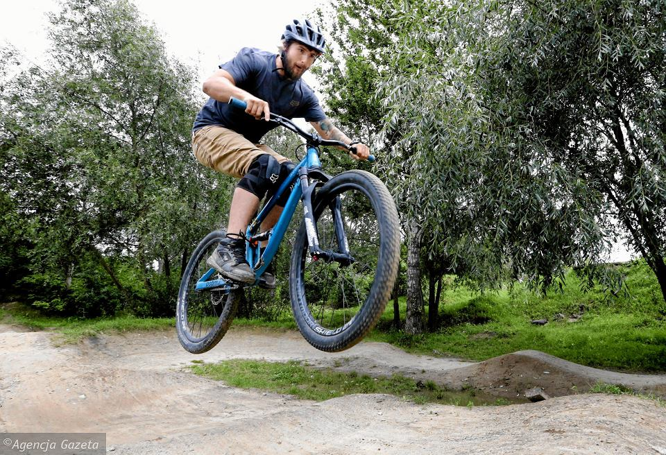 Tor rowerowy na Kazurce