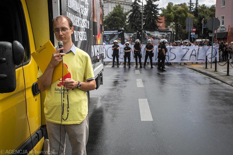 11 sierpnia 2018 r. Marsz Równości przeszedł przez Poznań. Jego przeciwnicy odmawiali różaniec