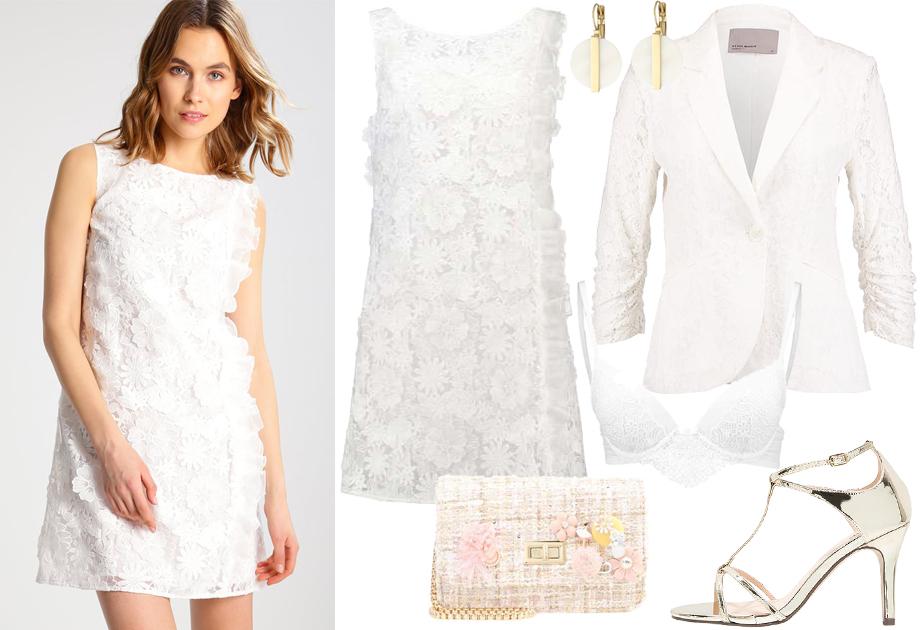 41527dfff7 Suknia ślubna z sieciówki - stylizacja ślubna