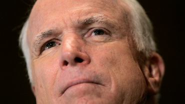 Zdjęcie z 4.09.2008 r. Republikański kandydat na prezydenta USA John McCain