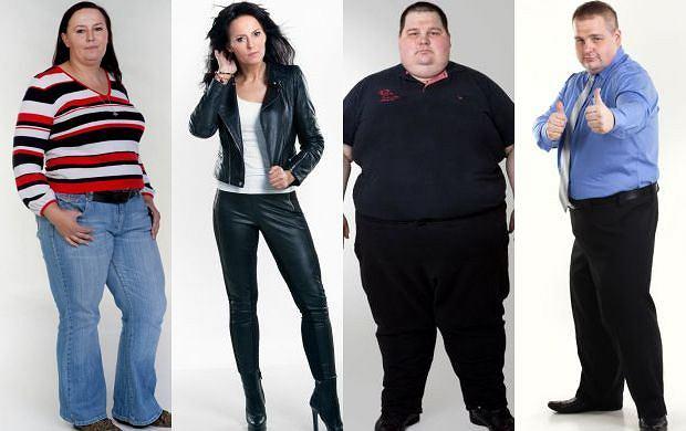 """Wielka gala ko�cz�ca """"Fat Killers"""". Uczestnicy schudli razem a� 355 kg! Zobacz ich niezwyk�e metamorfozy"""