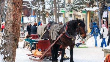 Zakopane to wciąż zimowa stolica Polski. Odwiedziny w niej nie obejdą się bez spaceru po Krupówkach