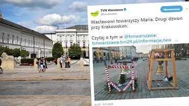 Dzwon na Krakowskim Przedmieściu