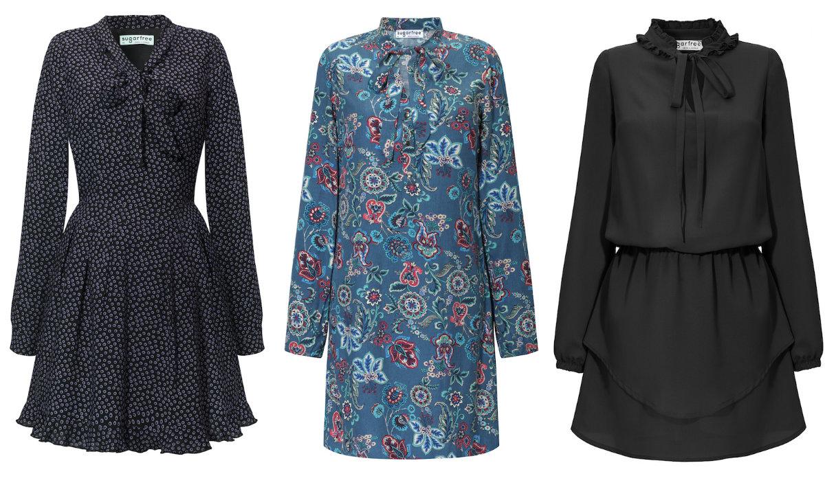 55d70c2fc75f72 Sukienki retro od Sugarfree - zobacz, z czym je nosić